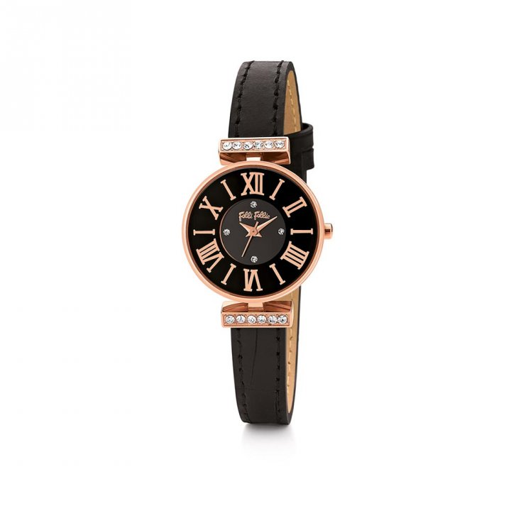 Folli Follie芙麗芙麗 Dynasty皮帶腕錶