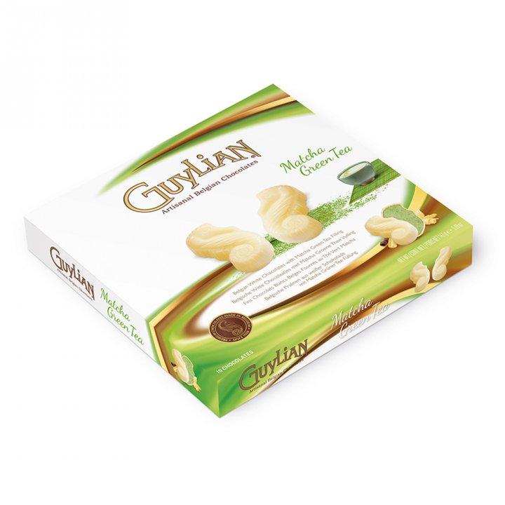Guylian吉利蓮 《同品項.買4送1》海馬造型抹茶白巧克力