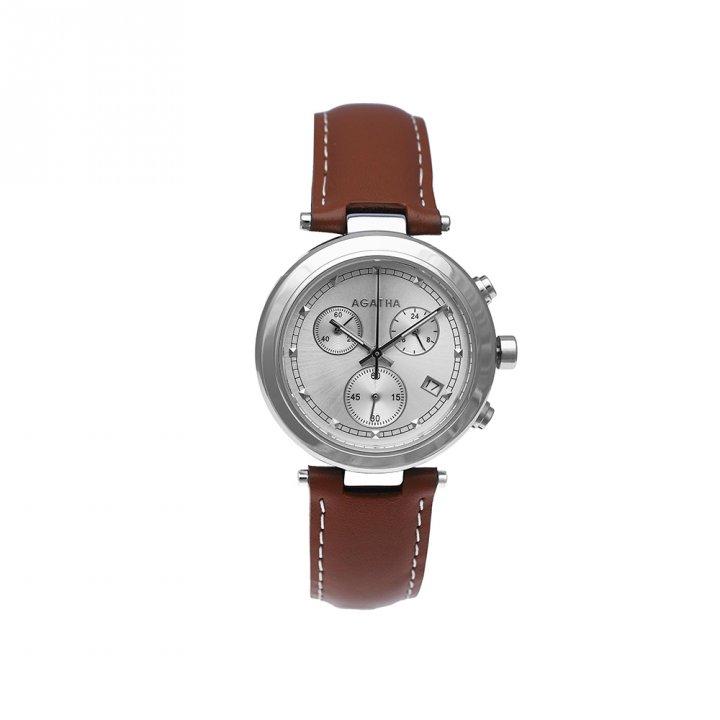 AGATHA璦嘉莎 Voltige 皮革腕錶