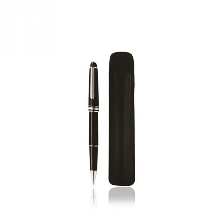 Montblanc萬寶龍(精品) 免稅套組-大班經典款鋼珠筆+筆套