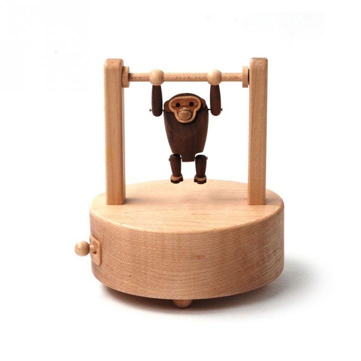 Jean Cultural知音文創 吊單槓音樂鈴-長臂猿
