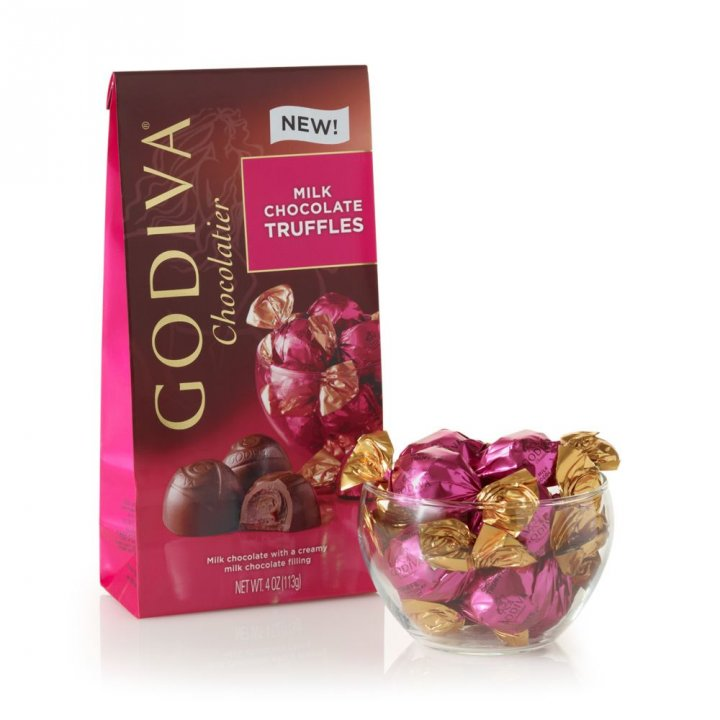 GodivaGodiva 《同品項.買3送1》軟心松露牛奶巧克力