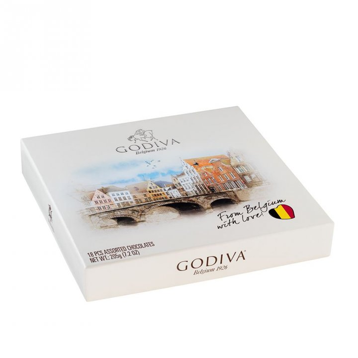 GodivaGodiva 《2件8折》比利時風景巧克力盒