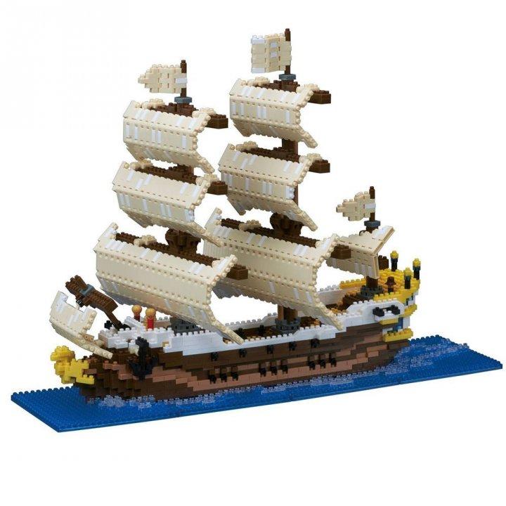 KAWADA河田 積木帆船