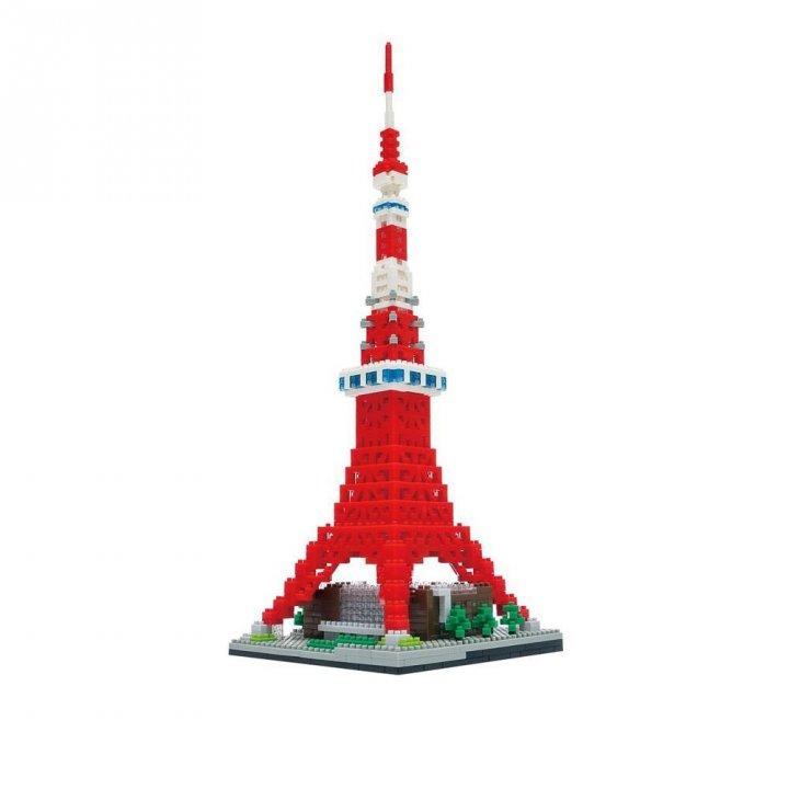 KAWADA河田 積木東京鐵塔 DX 豪華版