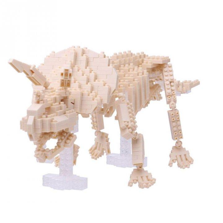 KAWADA河田 《滿額贈》積木三角龍骨架模型