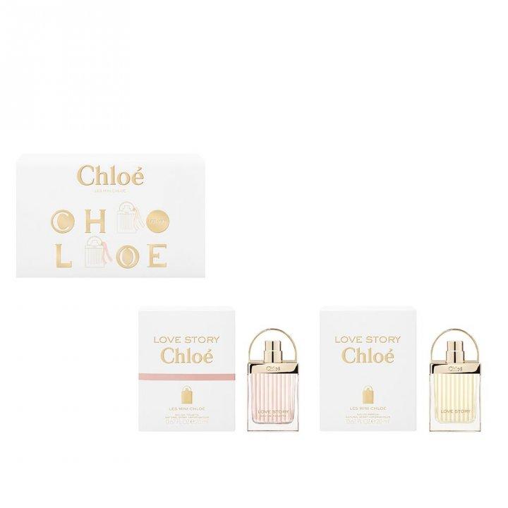 Chloe蔻依 Chloé愛的故事濃香水和淡香水迷你兩件套裝