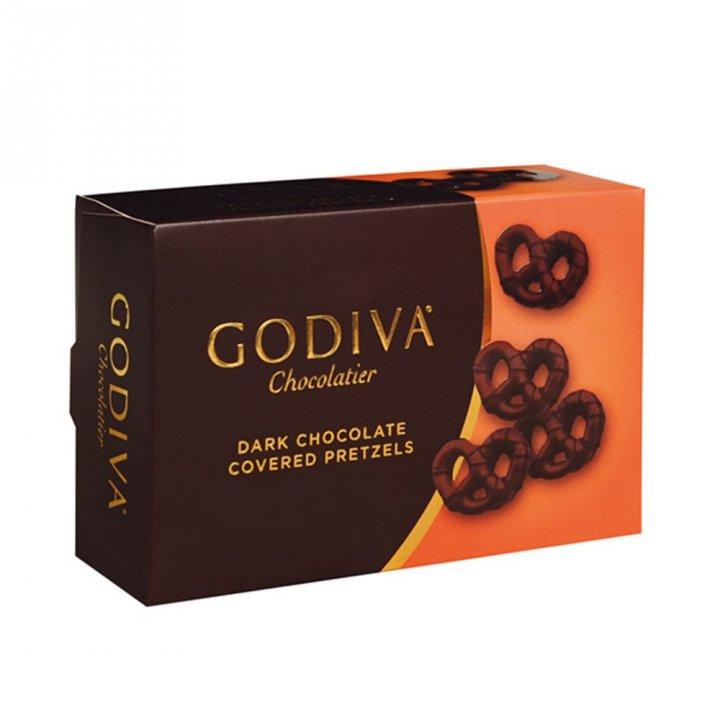 GodivaGodiva 黑巧克力蝴蝶餅