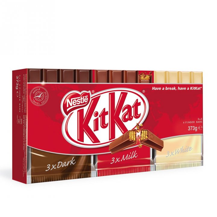 Nestle雀巢 巧克力綜合包(黑巧克力/牛奶/白巧克力)