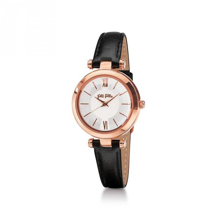 Folli Follie芙麗芙麗 LadyBubble皮帶腕錶