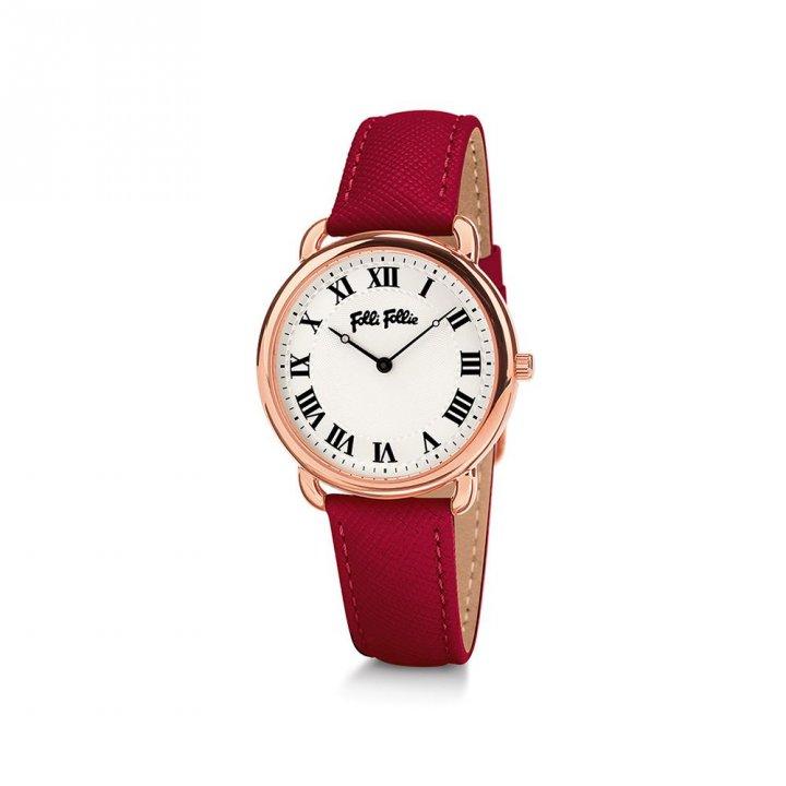 Folli Follie芙麗芙麗 PerfectMatch皮帶腕錶