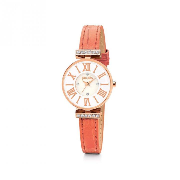Folli Follie芙麗芙麗 MiniDynasty皮帶腕錶
