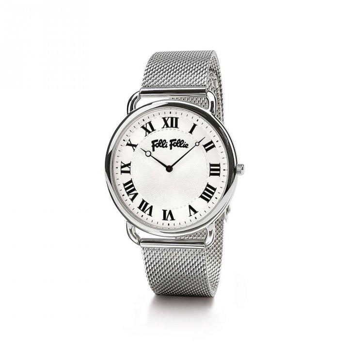 Folli Follie芙麗芙麗 PerfectMatch不鏽鋼腕錶