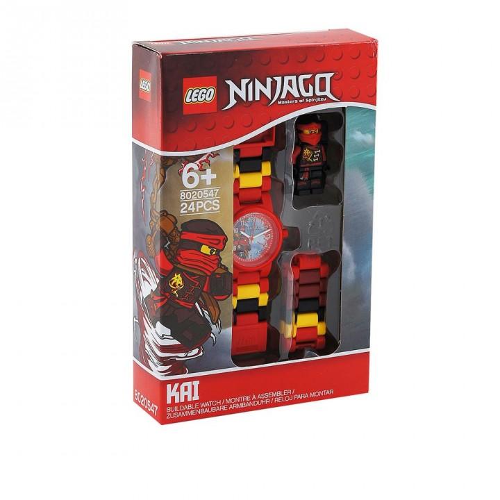 LEGO樂高 旋風忍者系列手錶-赤地紅忍者
