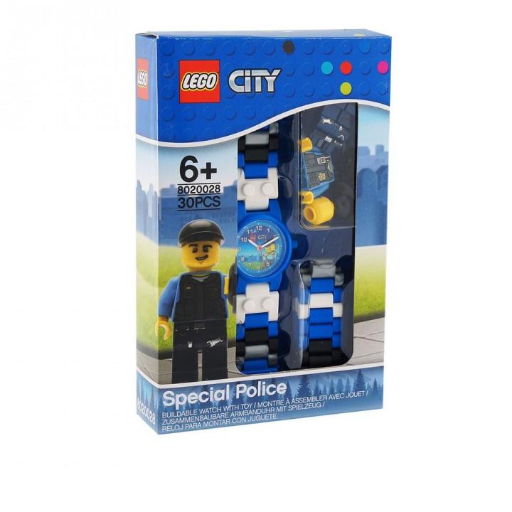 LEGO樂高 Ciry系列手錶-城市警察