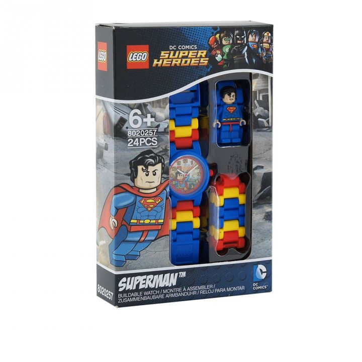 LEGO樂高 DC超級英雄系列手錶-超人