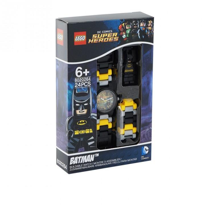 LEGO樂高 DC超級英雄系列手錶-蝙蝠俠