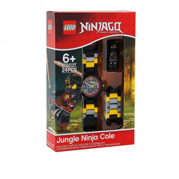 LEGO樂高 旋風忍者系列手錶-土系忍者
