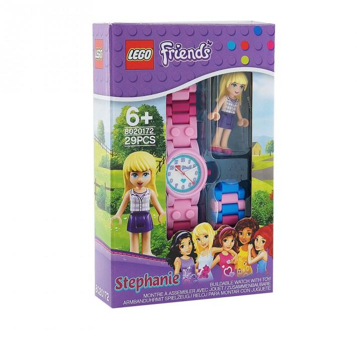 LEGO樂高 好朋友系列手錶-史蒂芬妮