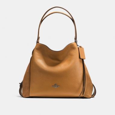 Coach蔻馳(精品) EDIE 31 異材質皮革拼接手袋
