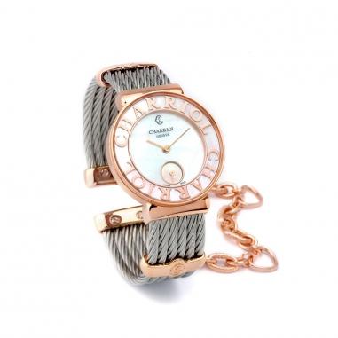 CHARRIOL夏利豪 《下單送.經典手環》鋼索手錶