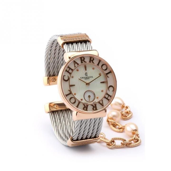 ST-TROPEZ鋼索手錶