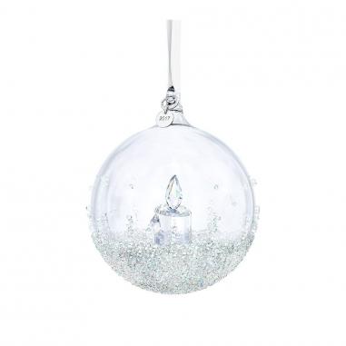 Swarovski施華洛世奇 Christmas水晶球吊飾_2017限量