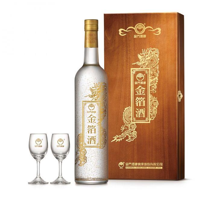 KINMEN KAOLIANG金門酒廠 56度金箔酒燙金版