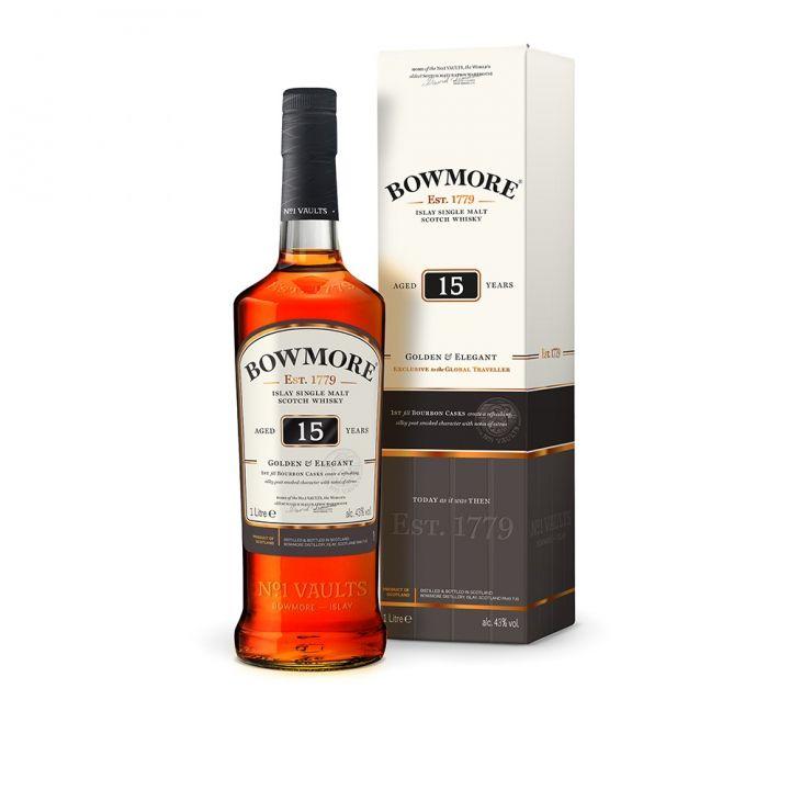Bowmore波摩 波摩15年威士忌