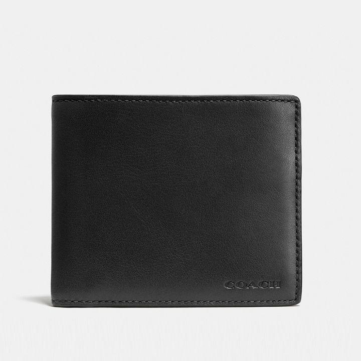 Coach蔻馳(精品) COACH 輕薄皮革證件夾