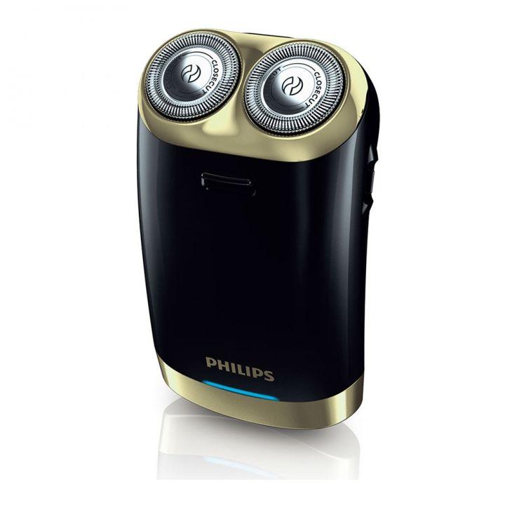 Philips飛利浦 《送運動毛巾》USB充電式雙刀頭電鬍刀禮盒組HS199