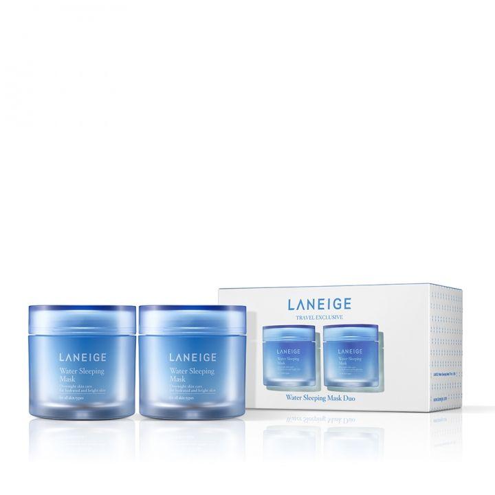 Laneige蘭芝 睡美人香氛水凝膜 淨亮保濕升級版2件裝套組