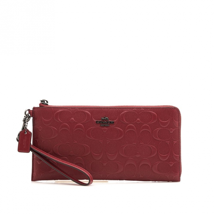 KEEP ALL WRISTLET IN SIGNATURE CALF LEATHER經典壓紋多功能旅行手拿包