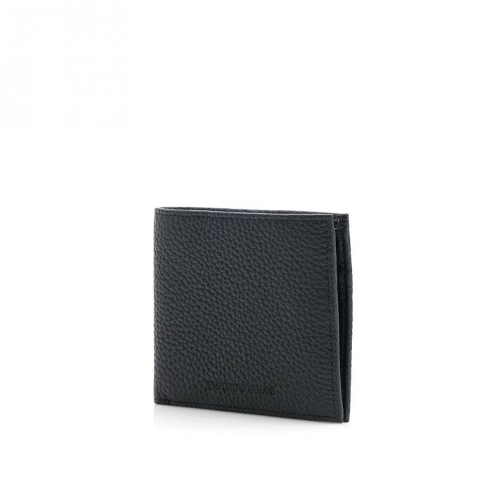 EMPORIO ARMANI 4 CC BILLFOLD WITH COIN CASEEMPORIO ARMANI 短夾