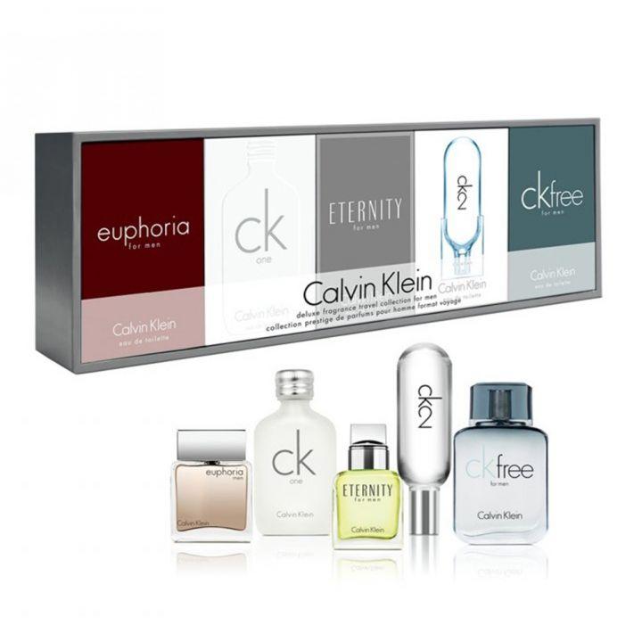 Calvin Klein凱文克萊(香水) 卡爾文克雷恩男士迷你禮盒