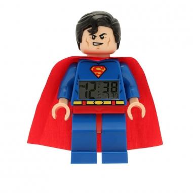 LEGO樂高 超級英雄系列鬧鐘-超人