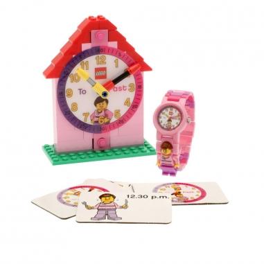 LEGO樂高 時間老師女孩-粉色款