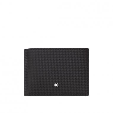 Montblanc萬寶龍(精品) 風尚系列6卡皮夾+可拆卡夾
