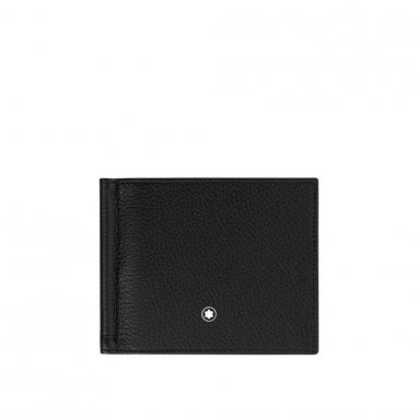Montblanc萬寶龍(精品) 大班軟皮粒紋系列4卡皮夾+鈔票夾