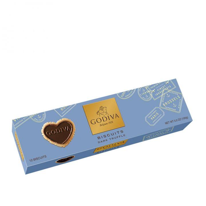 GodivaGodiva 《滿額送品牌禮》心型黑巧克力餅乾