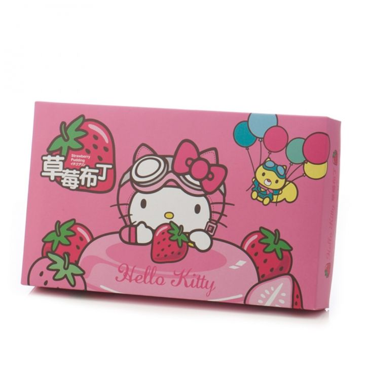Hello KittyHello Kitty 機場限定-環遊Hello Kitty草莓布丁禮盒