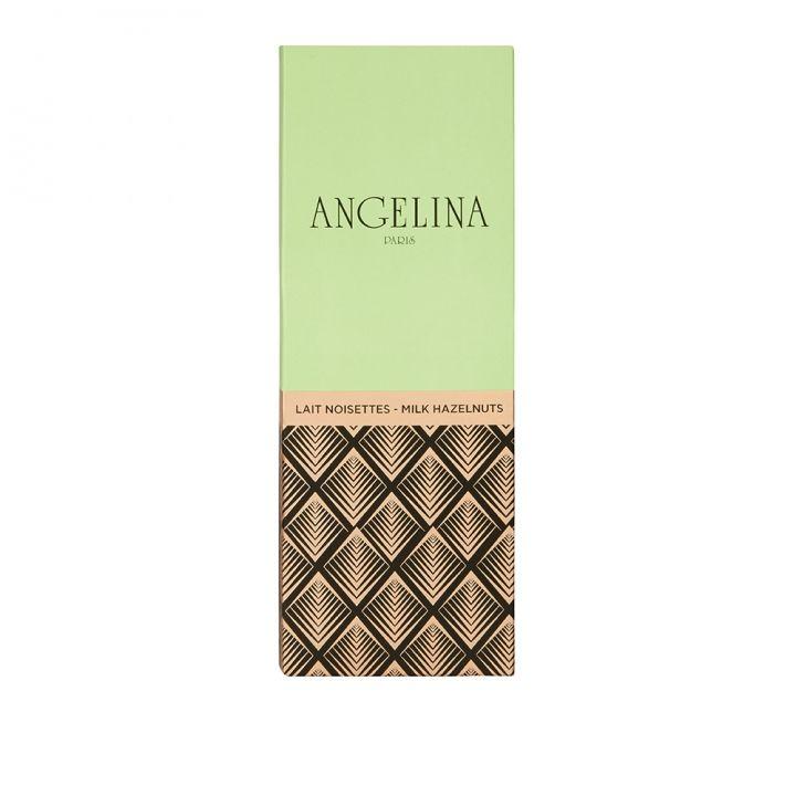 AngelinaAngelina 榛果牛奶巧克力片