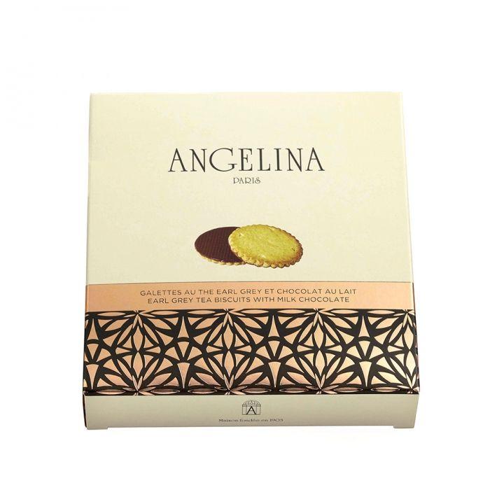AngelinaAngelina 伯爵茶牛奶巧克力餅乾