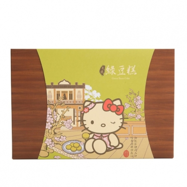 Hello KittyHello Kitty 《同品項.買10送1》Hello Kitty奉禮-綠豆糕