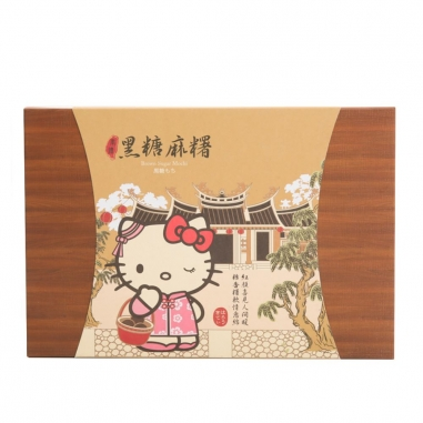 Hello KittyHello Kitty 《同品項.買10送1》Hello Kitty奉禮黑糖麻糬