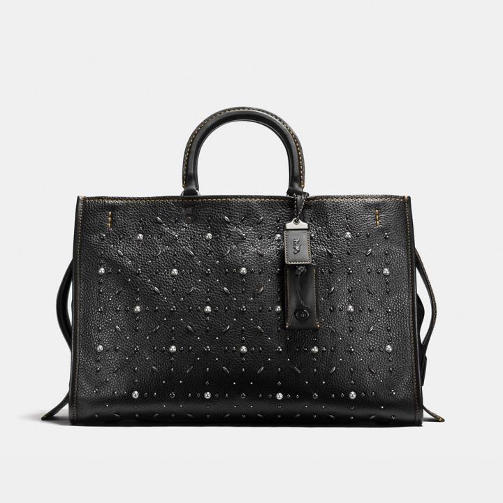 ROGUE BAG 39 WITH PRARIE RIVETSROGUE 39 PRAIRIE鉚釘皮革手袋