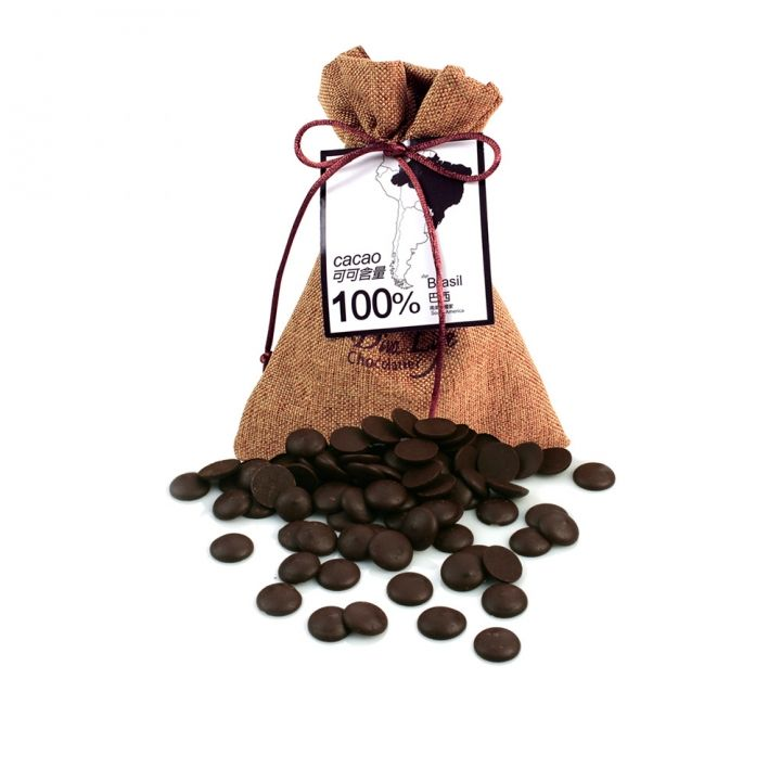 Diva LifeDiva Life 麻布袋鈕扣巧克力100%