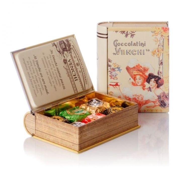 VenchiVenchi 書本造型鐵盒巧克力