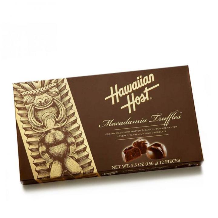 Hawaiian Host賀氏 《同品項.買3送品牌禮》Truffles夏威夷巧克力