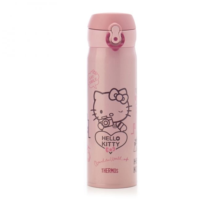 Hello KittyHello Kitty 機場限定-Hello Kitty 旅行保溫杯
